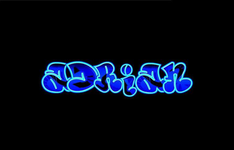 Adrian Graffiti Letters Keyword Data Related Adrian Graffiti